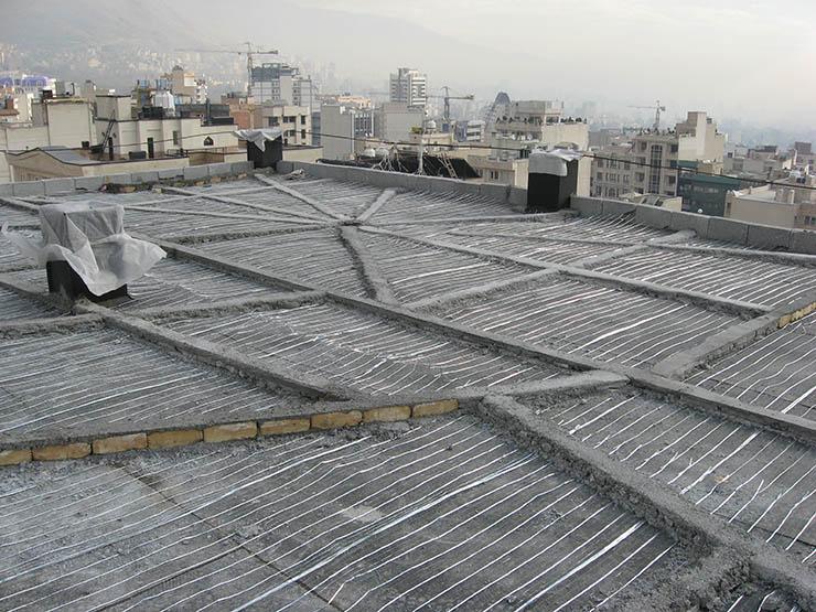korombandie bam شیب بندی ساختمان