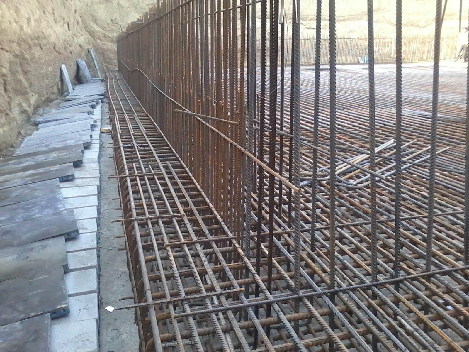 آرماتوربندی مراحل ساخت ساختمان