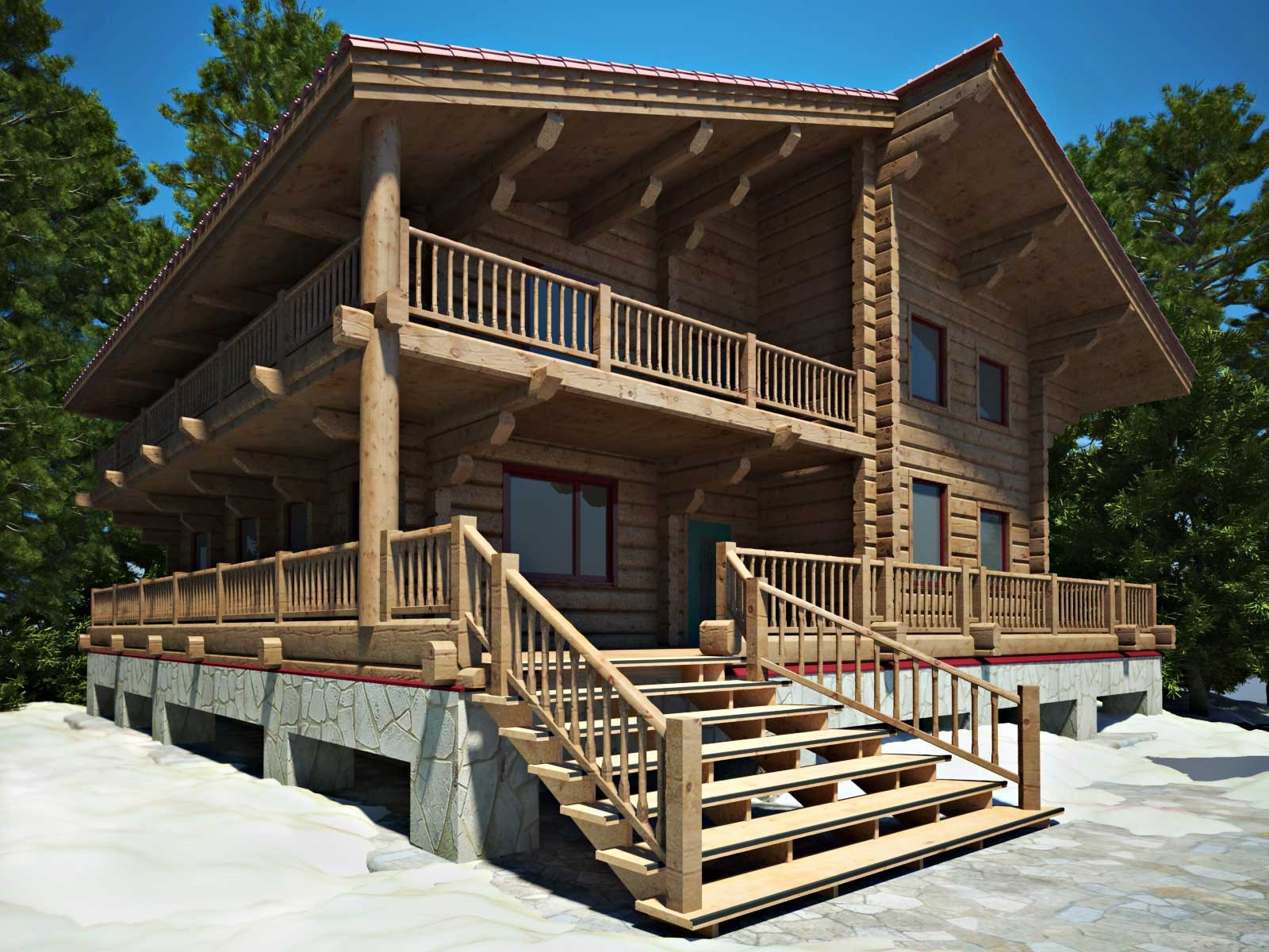 کلبه انواع ساختمان از نظر سازه و باربری