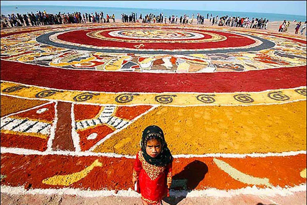 فرش جزیره هرمز 1030x687 بهشت زمین شناسی جهان